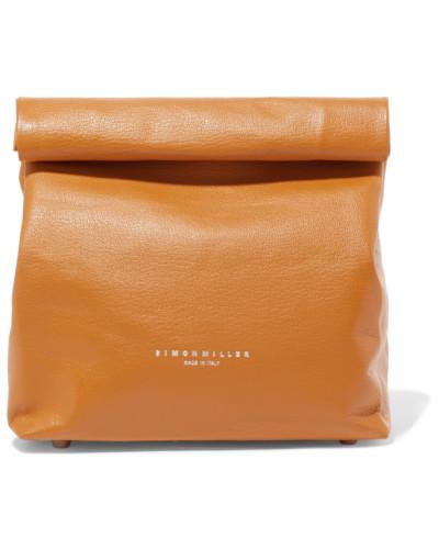 Simon Miller Damen Lunchbag 20 Clutch aus Strukturiertem Leder Billig Verkauf Sehr Billig Original Top-Qualität Zum Verkauf Billig Verkauf Footaction KCRtb