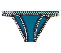 Flor Bikini-höschen mit Häkelbesatz