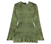 Magic Gerafftes Minikleid aus Lurex®