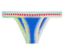 Tuesday Bikini-höschen mit Häkelbesatz