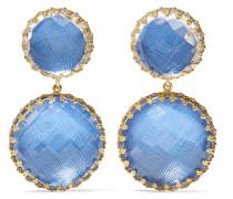 Olivia Große in Gold Getauchte Ohrringe