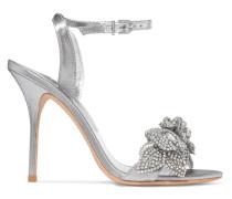 Lilico Verzierte Sandalen aus Lamé