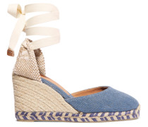 Carina 80 Espadrille-wedges aus Canvas