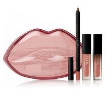 Demi Matte Lip Kit – Bombshell & Mogul – Set aus Lipliner und Flüssigen Lippenstiften