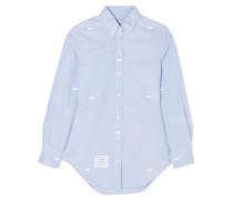 Hemd aus Baumwoll-oxford mit Schleifen