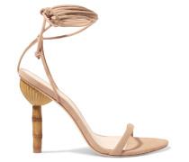 Luna Sandalen aus Veloursleder