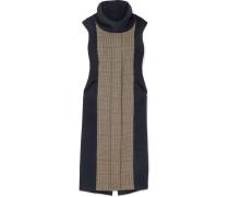 Athena Kleid aus einer Woll-kaschmirmischung und Fleece