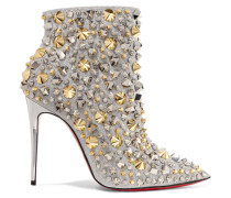 So Full Kate 100 Verzierte Ankle Boots aus Leder