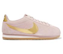 Cortez Se Sneakers aus Veloursleder und Metallic-lackleder