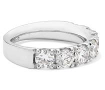 Ring aus  mit Diamanten