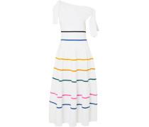 Asymmetrisches Kleid aus Stretch-strick