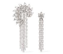 Verte Ohrringe mit Kristallen