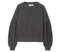 Bishop Sweatshirt aus Baumwoll-jersey