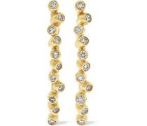Eden Ohrringe aus 9 Karat  mit Diamanten