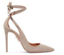Milano Pumps aus Veloursleder mit Cut-outs
