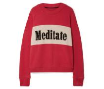 Meditate Oversized-pullover aus Kaschmir