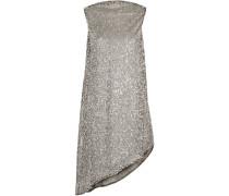 Minikleid aus Mesh