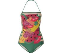 + Charlotte Olympia Tutti Frutti Neckholder-badeanzug