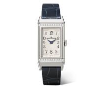 Reverso Classic Medium Uhr aus Edelstahl