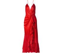 Pefumero Robe aus Seidensatin