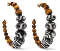 Zulu Creolen mit Perlen