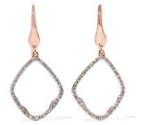 Riva Ohrringe mit -vermeil und Diamanten