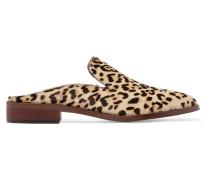 Slippers aus Kalbshaar