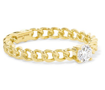 Ring aus 18 karat  mit Einem Diamanten