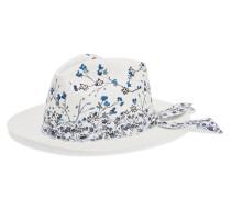 Bemalter Hut aus Toquilla-stroh