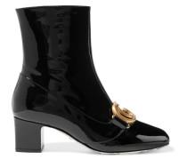 Victoire Ankle Boots aus Lackleder