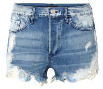W2 Mason Gebleichte Jeansshorts in Distressed-optik
