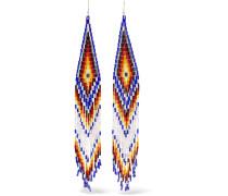 Ohrringe aus Zierperlen