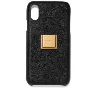 Verzierte Iphone Xr-hülle aus Strukturiertem Leder