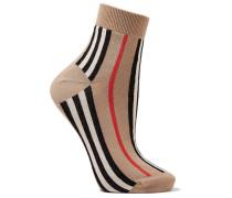 Socken aus einer Baumwollmischung