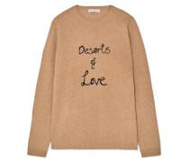 Deserts Of Love Pullover aus einer Kaschmirmischung