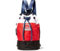Sport Sling Rucksack aus Shell in Colour-block-optik