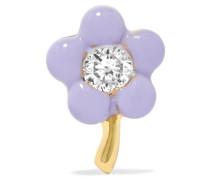 Tiny Flower Ohrring aus 14 Karat