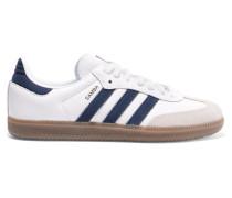 Samba Og Sneakers aus Leder und Veloursleder