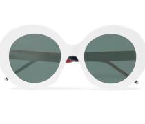 Verspiegelte Sonnenbrille