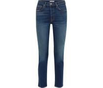 Karolina Hoch Sitzende Skinny Jeans