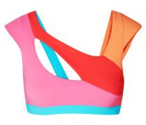 Izaro Bikini-oberteil in Colour-block-optik