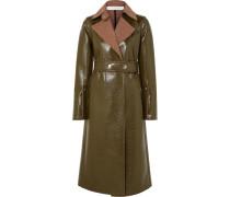 Mantel aus einer Beschichteten Wollmischung