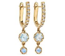 Ivy Ohrringe aus 14 Karat  mit Diamanten