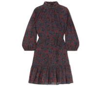 Victoria Minikleid aus Baumwollgaze