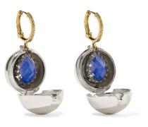 Lady Jane Kleine in Rhodium Getauchte Ohrringe Ohrringe aus 14 Karat  und Sterlingsilber