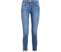 W3 Hoch Sitzende, Verkürzte Jeans