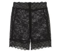 Shorts aus Stretch-spitze