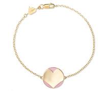 Amour Armband aus 14 Karat  und Emaille