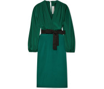 Deny Kleid aus Crêpe De Chine aus Seide und einer Seidenmischung
