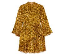 Marisa Minikleid aus Chiffon aus einer Seidenmischung